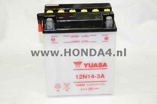 31500-300-670 Lead Battery YB14L-A2 including acid (Yuasa)