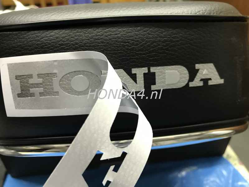 FAQ Apply HONDA logo to seat