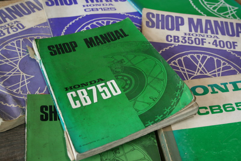 Workshop-manuals