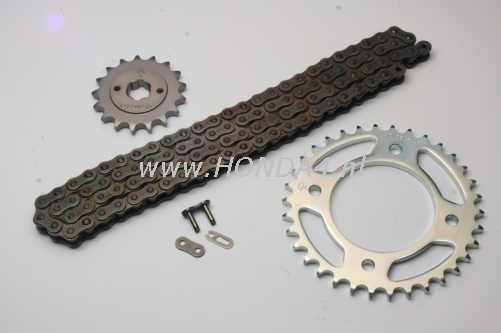 40530-323-Rol Chainkit CB500 with rollerchain