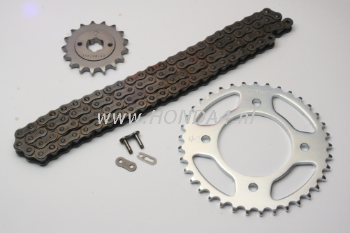 40530-374-rol  Chainkit CB550 with rollerchain