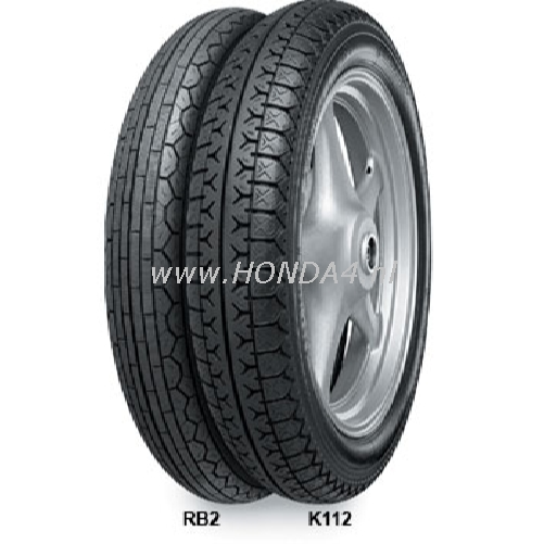 42711-300-con CONTINENTAL K112 4.00-18 64H Rear Tyre
